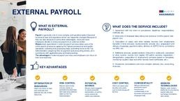 External payroll services - MAZARS